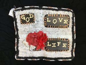 """God Love Life"" Decoration"