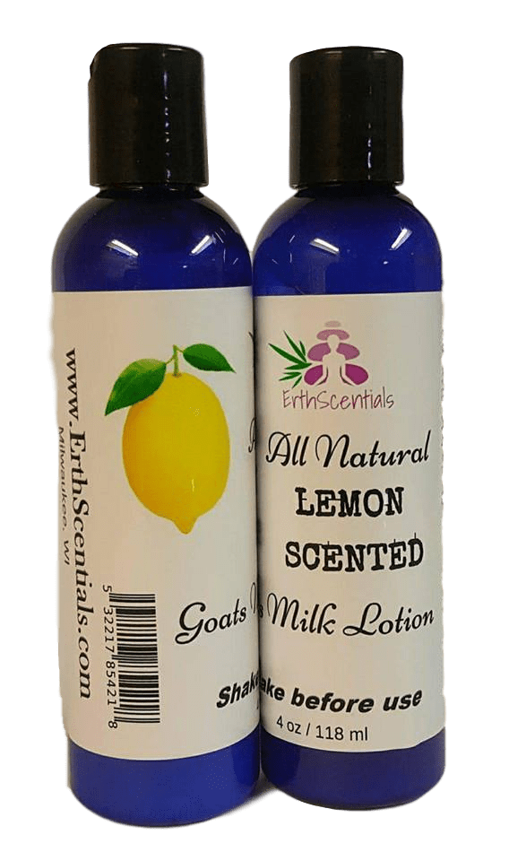 All-Natural Goats Milk Lotion Infused with Essential Oils - ErthScentials