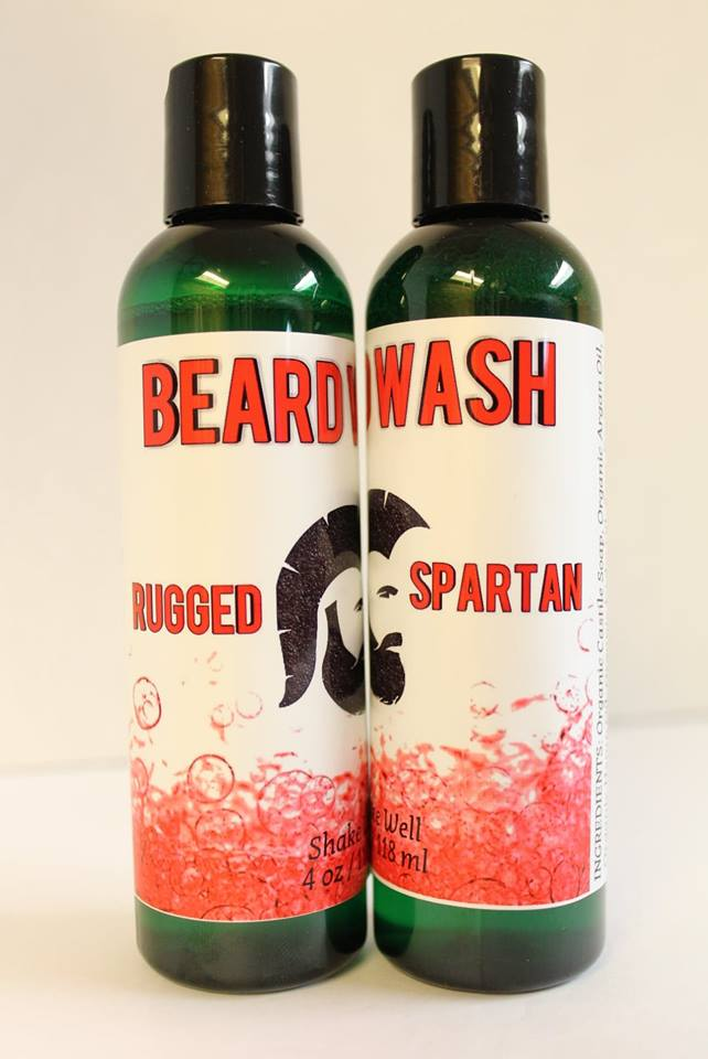 BEARD WASH - Spartan Blend - ErthScentials