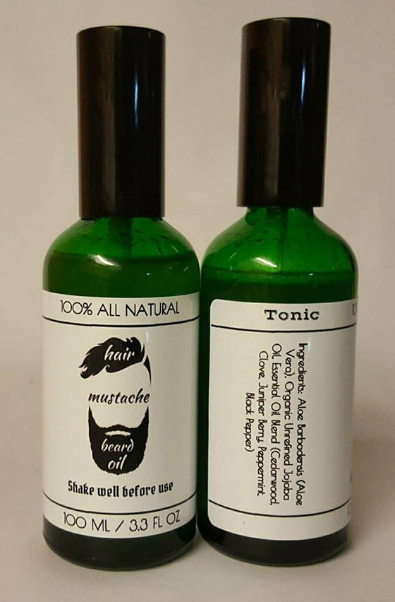 Hair Mustache Beard Oil - Tonic Blend - ErthScentials