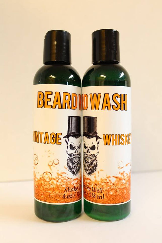 BEARD WASH - Vintage Whiskey - ErthScentials