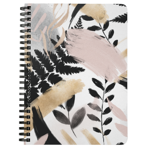 Leaves Spiralbound Notebook