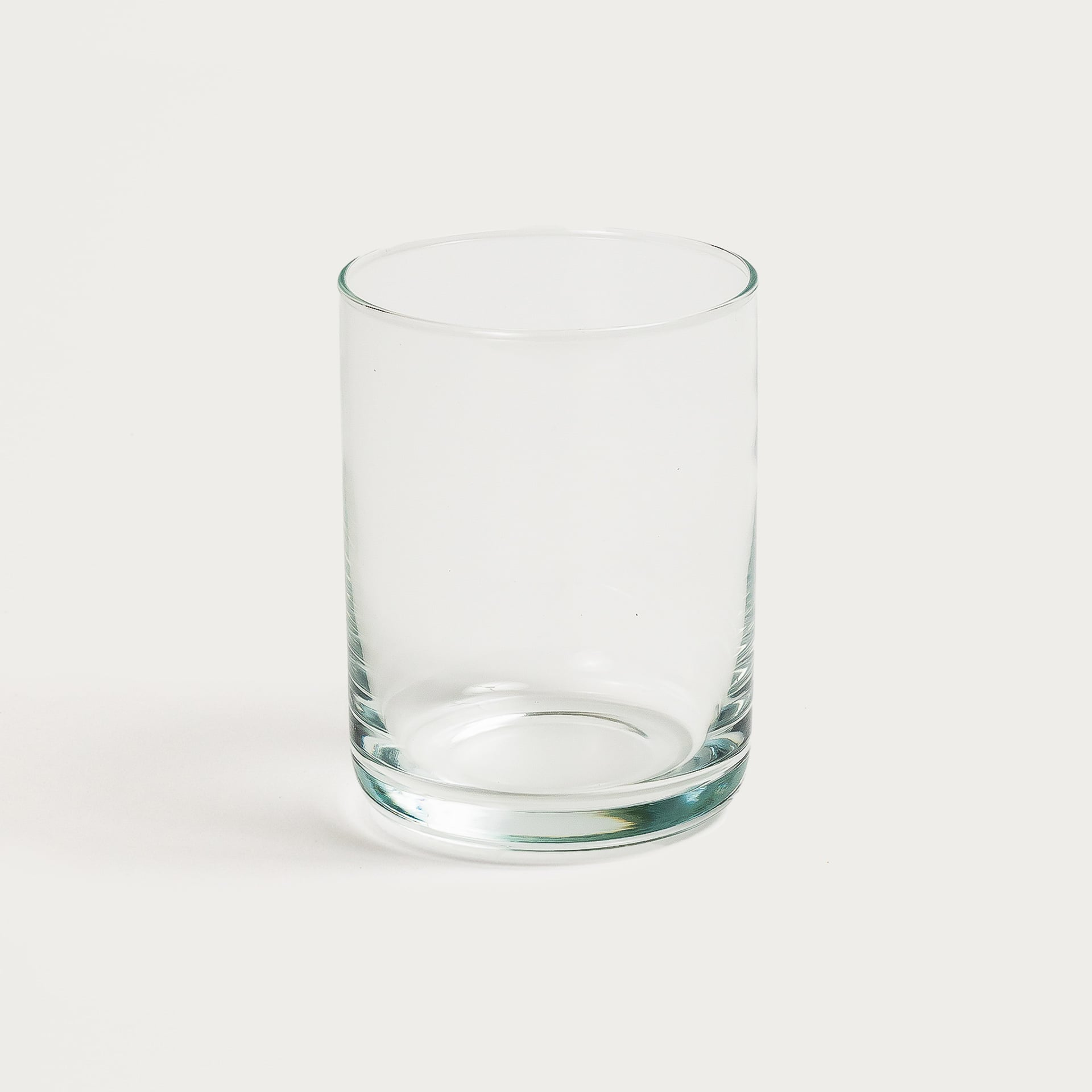 Set of 6 Clear Glasses