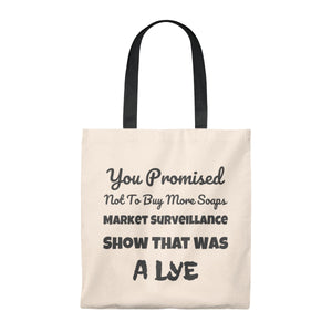 Soap Addict Tote Bag - Vintage