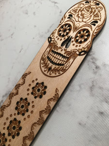 Wood Engraved Bookmark