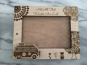 Engraved Picture Frames Hold 5x7 Picture