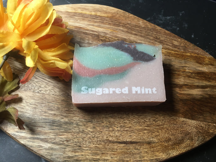 Sugared Mint - Artisan Soap