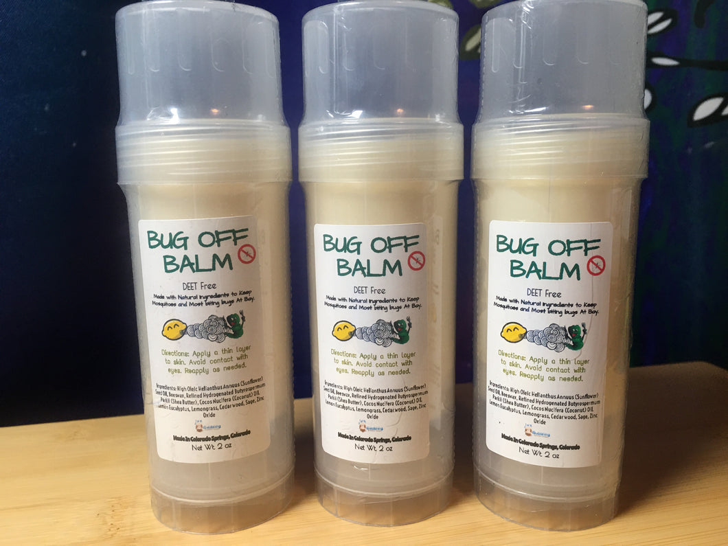 Bug Off Balm - Natural Bug Repellent Balm