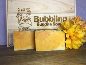 Lemongrass Eucalyptus Artisan Soap - All Natural