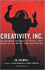 Creativity inc. book