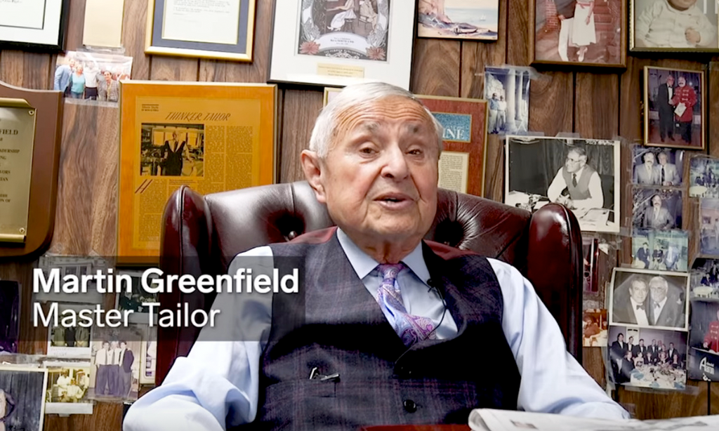 Insider // How this Holocaust survivor became a tailor for US presidents and celebrities