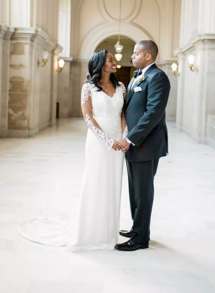 BRIDES // An Elegant Wedding at San Francisco City Hall