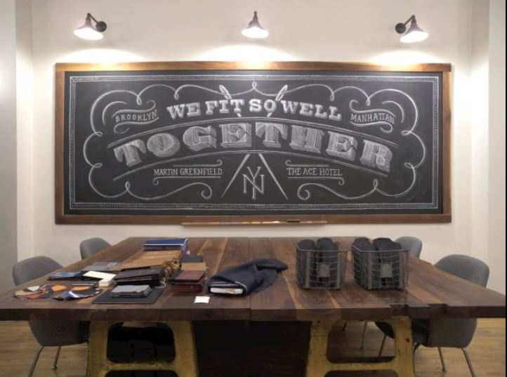 Ace Hotel + Martin Greenfield Clothiers