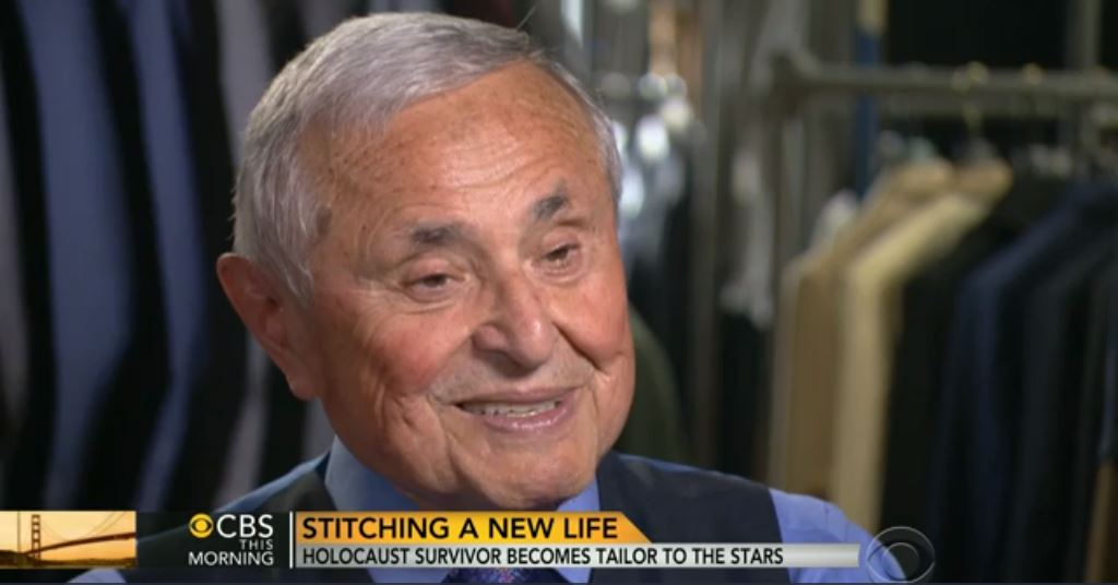 Master tailor stitches a new life as tailor to the stars