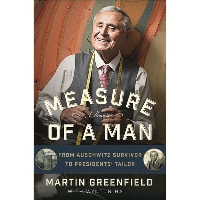 Autographed Hardcover Book 'Measure of a Man' by Martin Greenfield