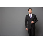 Chelsea Solid Grey 3-Piece Suit