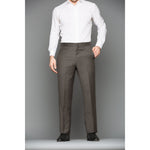 Olive Wool Trousers