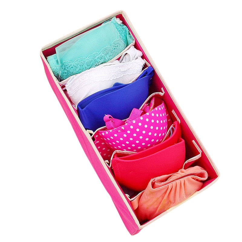 Storage Boxes Underwear Divider Drawer Cover Closet Organizer For Socks Clothes Underwear Ties Organizer Shorts Bra - carpemstore