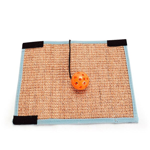 Cat Scratching Post Pad Natural Sisal Mat Toy Kitten Scratch Board Toy For Cats Protecting Furniture Grind Claws Cat Scratcher - carpemstore