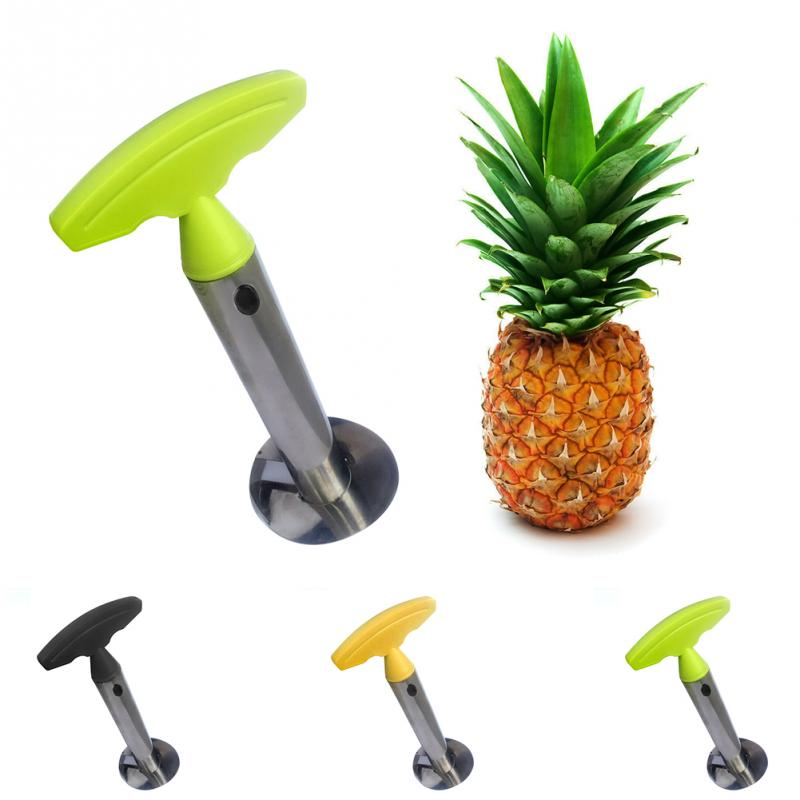 Stainless Steel Easy to use Pineapple Peeler Slicers Fruit Knife Cutter Corer Slicer Kitchen Tools - carpemstore