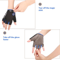 Half Finger Cycling Bike Gloves with Absorbing Sweat Design for Men and Women Bicycle Riding Outdoor Sports Accessories - carpemstore