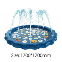 Outdoor Spray Water Cushion PVC Inflatable Spray Water Toys for Children Play Water Mat Games Beach Lawn Sprinkler Pads - carpemstore
