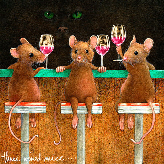 Three Wined Mice