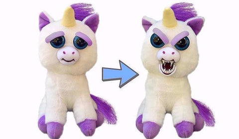 GLENDA GLITTERPOOP UNICORN FEISTY PET