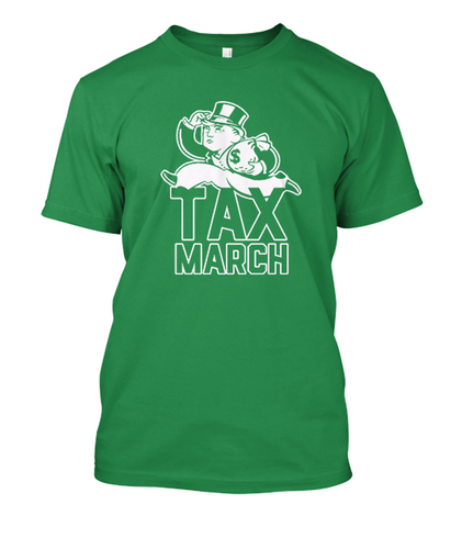 Tax March Tee