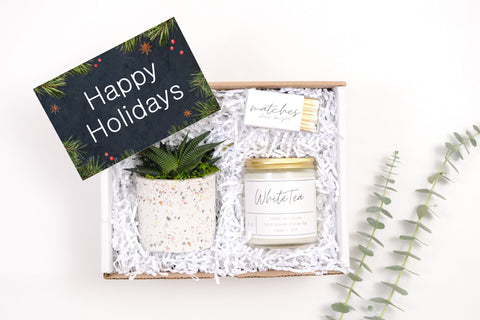 Holiday Gift Box - White Tea - Mini Gift Box