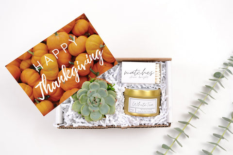 Thanksgiving Gift| Soy Candle Gift | Gift For Her Gift Box |