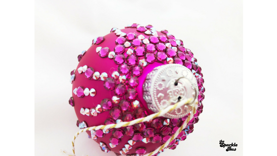 Fuchsia Christmas Ornament Tutorial