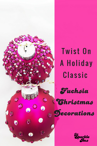 Fuchsia Christmas Ornament Tutorial DIY