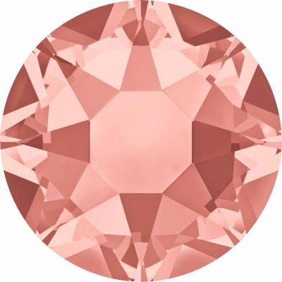 Swarovski Crystal Rose Peach