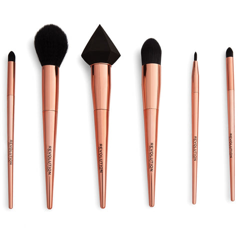 Reloaded Rose Gold Brush Set - ShopAllCases