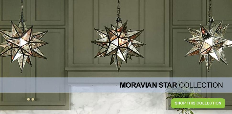 Meyda Tiffany Moravian Star Collection