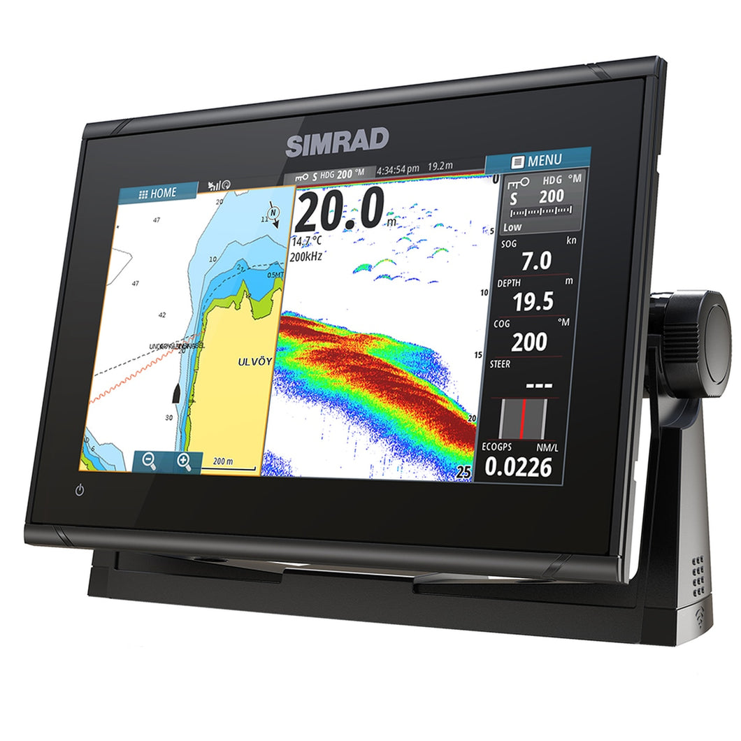 Simrad GO9 XSE Anti Glare Graph Glass