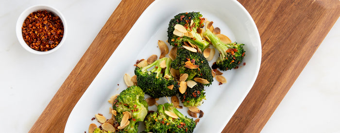 Almond Broccoli Bites