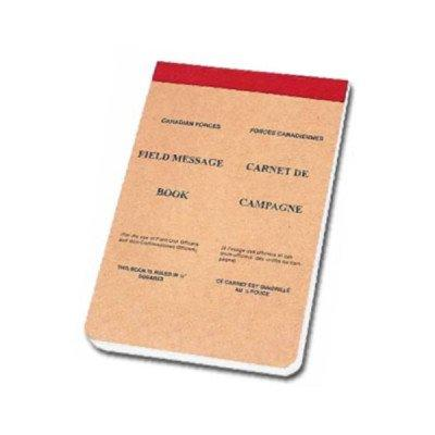 Canadian Field Message Book