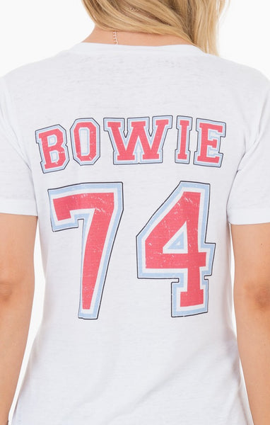 Icons Of Culture Bowie Marbled Graphic Tee