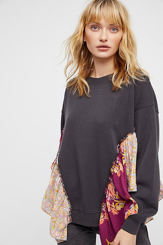 Free People She's Just Cute Pullover