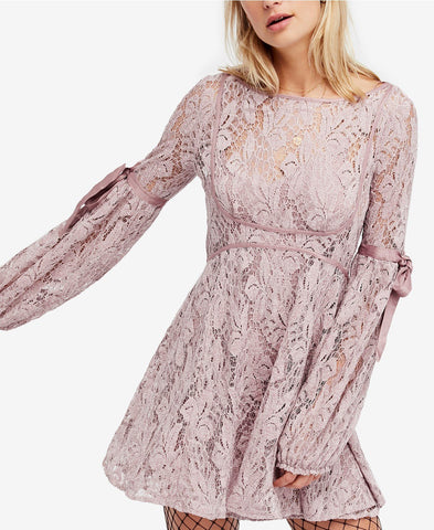 Free People Lace Illusion Dress