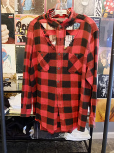 Vintage Havana Distressed Flannel