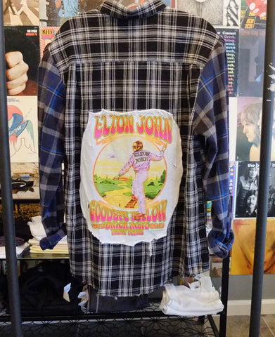 Elton John Mixed Flannel