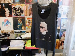Karl Lagerfeld Meshed Cut Off
