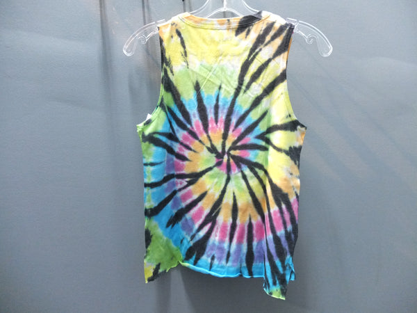 So Nikki Peace out Tie Dye Tank