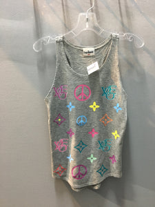 Firehouse Peace Signs Tank