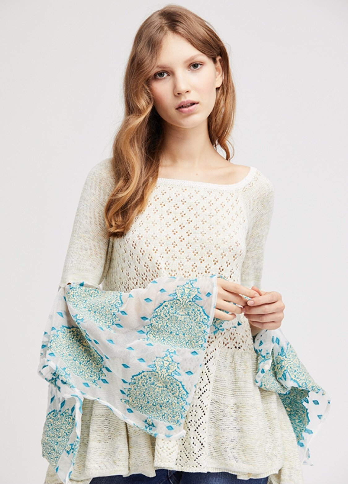 Free People Pointelle Breeze Top