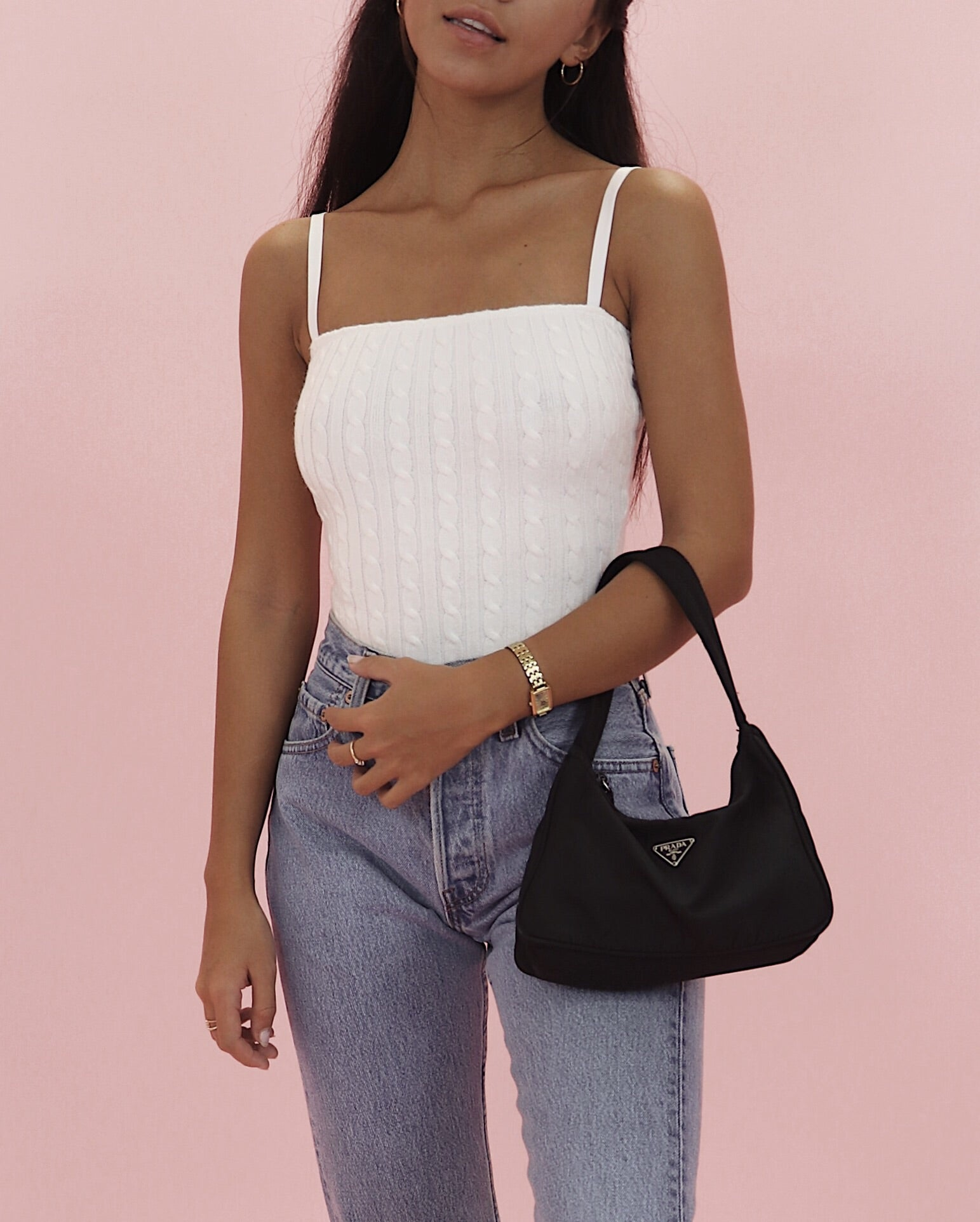 90s Cable Knit Bodysuit