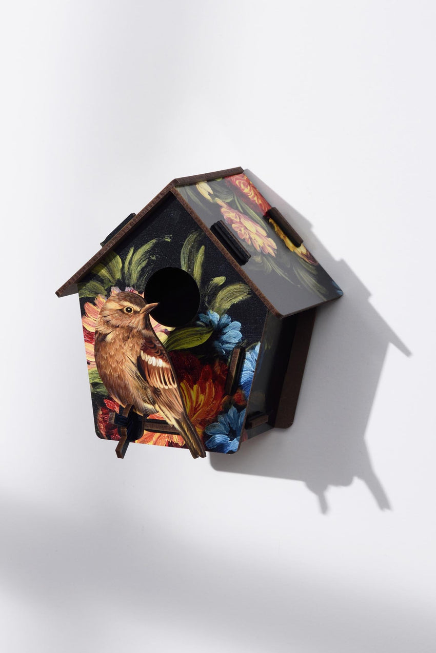 3D BIRDHOUSE TO PUT A SMILE ON YOUR FACE - BLACKHOUSE